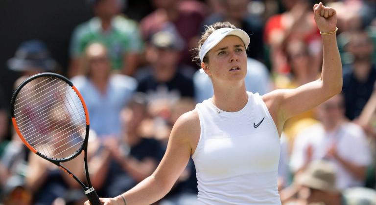 Zhang e Svitolina estreiam-se no top 8 de Wimbledon; Strycova regressa após virada incrível