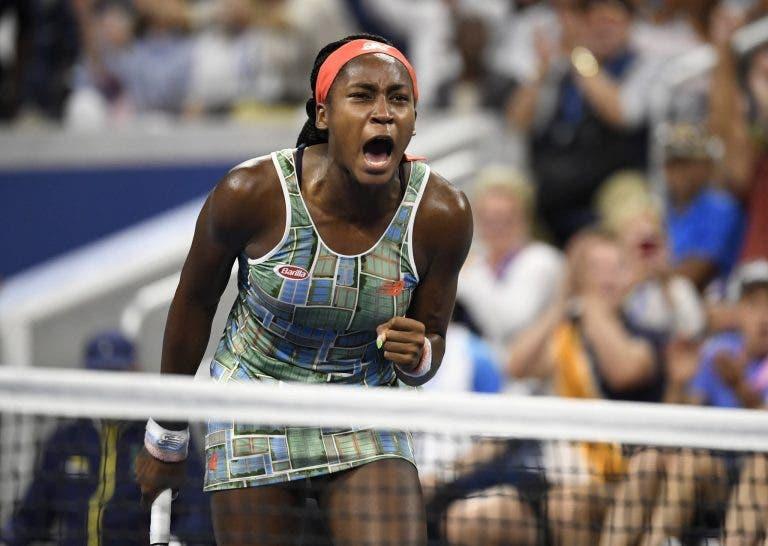 Coco Gauff vence duelo fantástico e avança no US Open