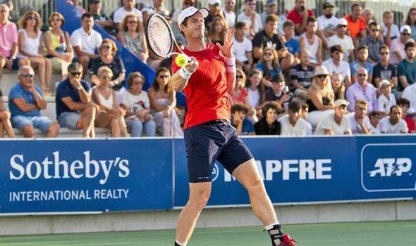 Andy Murray é eliminado nos oitavos de final do Rafa Nadal Open frente a carrasco de Fred Gil