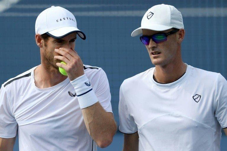 Jamie e Andy Murray desperdiçam match point e são eliminados nos 'quartos' em Washington