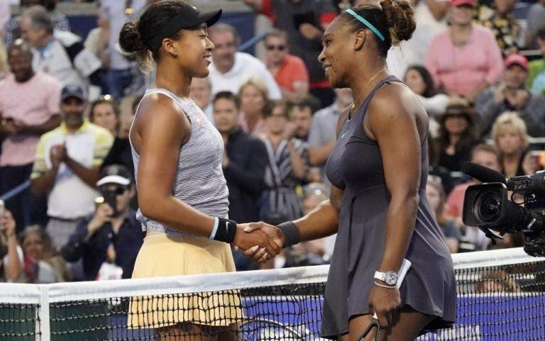 Osaka: «Seria um absurdo descartar a Serena da luta pelo Australian Open»