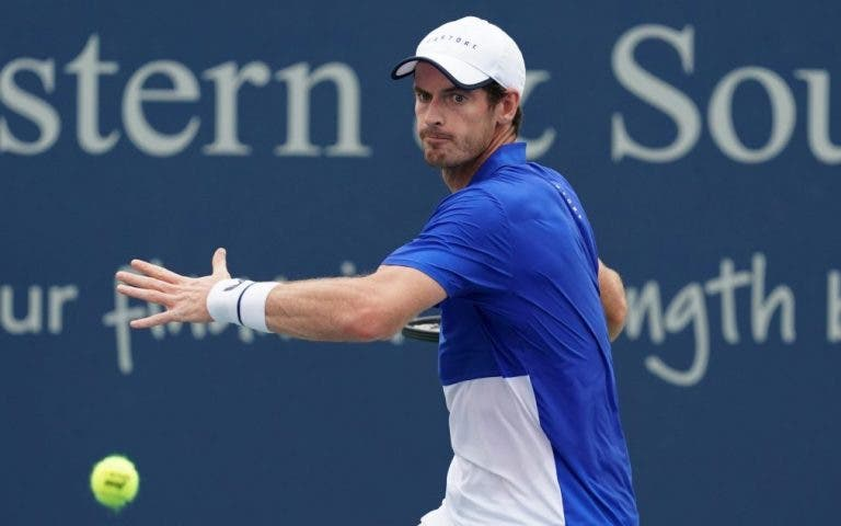Murray não joga singulares no US Open mas quer voltar a disputar um torneio… na próxima semana