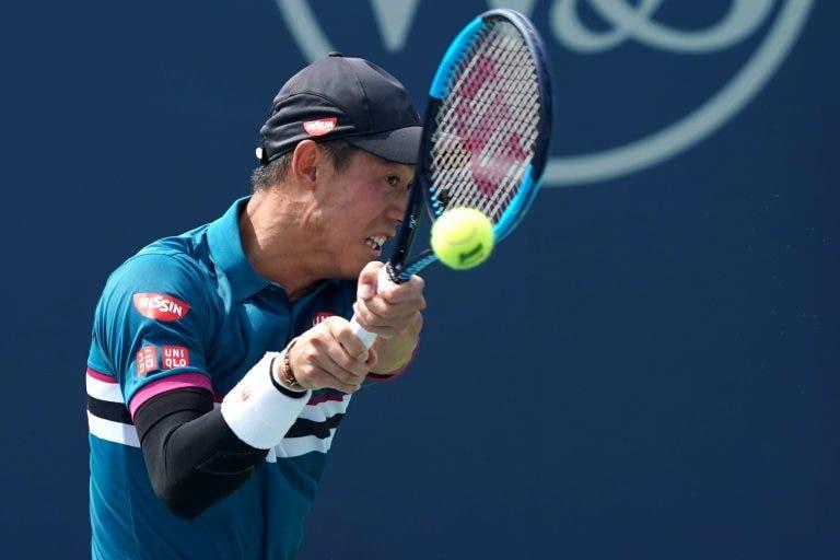 Nishikori revela não estar recuperado da lesão no cotovelo