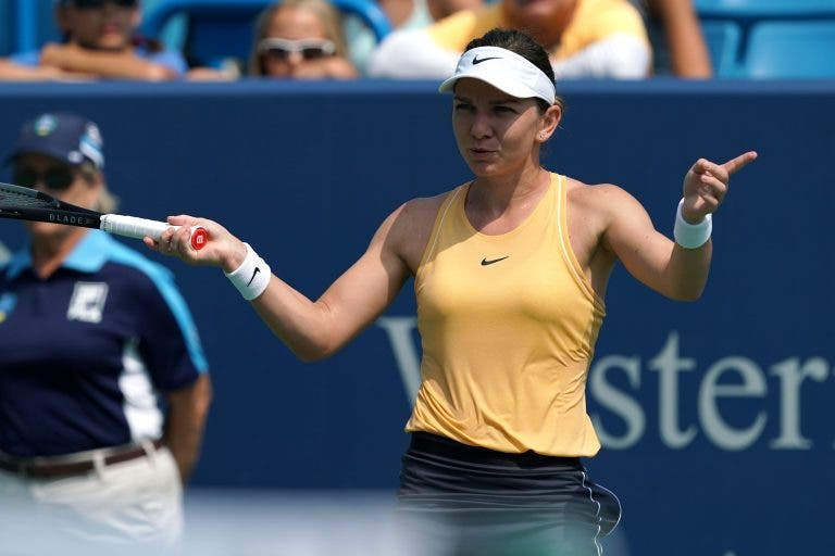 Simona Halep surpreendida na segunda ronda do US Open