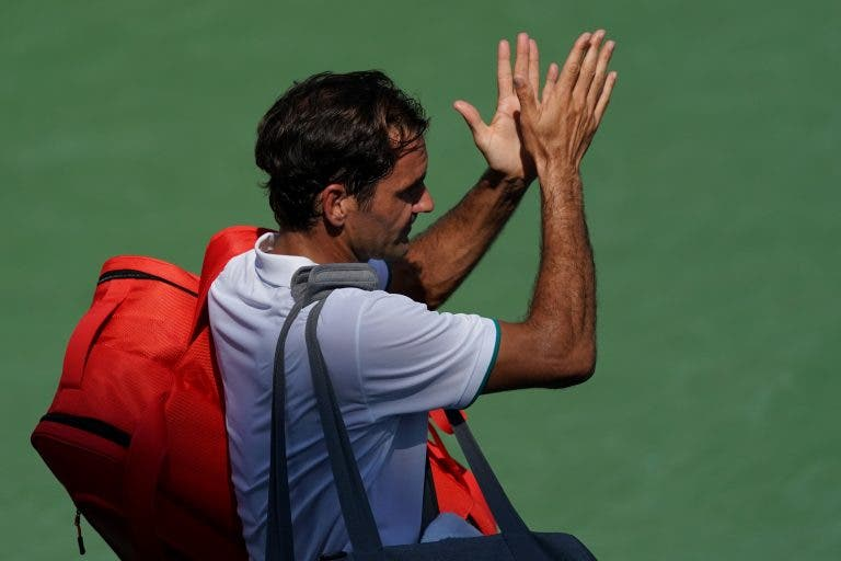 Federer após derrota rápida com Rublev: «Este tipo de resultados acontecem»