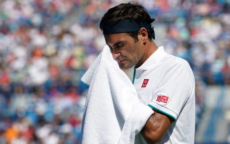 Há 16 anos que Federer não perdia um encontro tão depressa