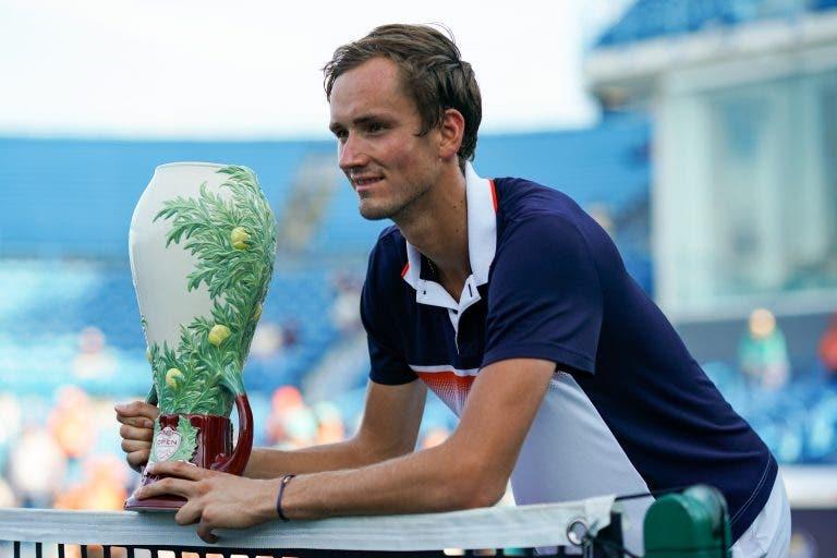 Medvedev: «Não vou favorito mas posso derrotar qualquer um»