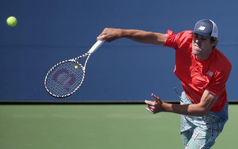 Gigante Opelka derruba Fognini no US Open; Dimitrov entra a vencer e pode defrontar Coric