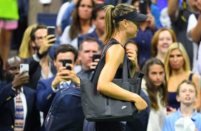 A viver um péssimo momento, Sharapova vai descer… para a 135.ª posição do ranking WTA