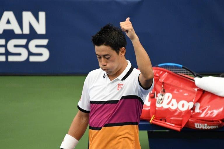 Nishikori mostra-se aliviado: «Estava preocupado antes de vir para Nova Iorque»