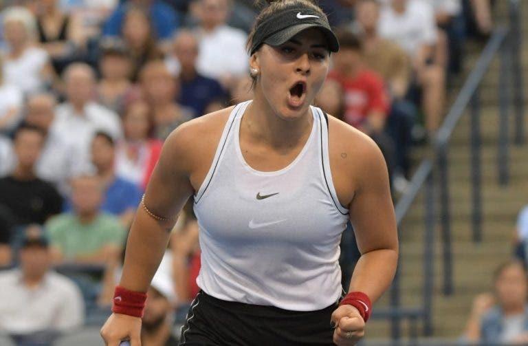Bianca Andreescu eleita a melhor jogadora do mês de agosto