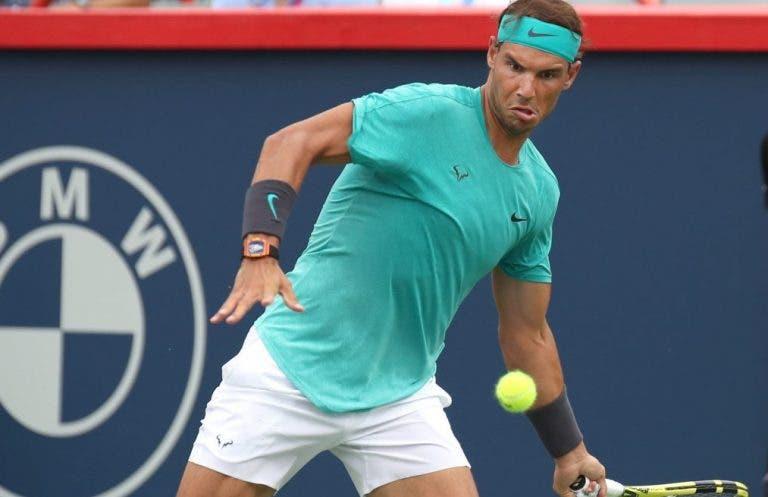 ATP Masters 1000 Montreal: siga Rafael Nadal vs Guido Pella no nosso Live Center