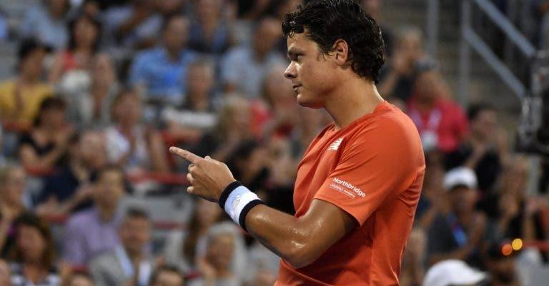 Continua o calvário: Raonic desiste das Davis Cup Finals devido a lesão