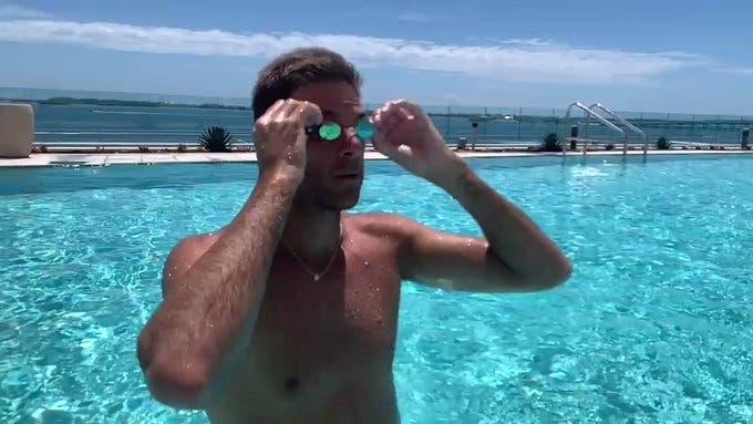 [VÍDEO] Del Potro dá sinais positivos após ser operado