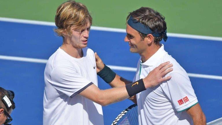 Kuznetsova é do mesmo país que Rublev mas admite: «Magoou-me ver o Federer perder»