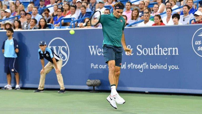 Federer define a resposta ao serviço de Nadal e Djokovic e fala da importância desta pancada