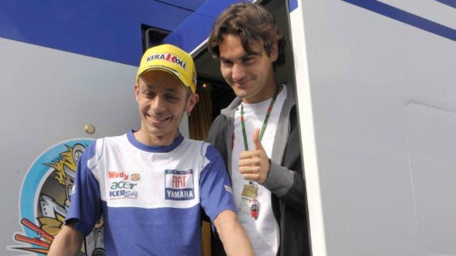 Rossi: «Djokovic é uma parede mas o Federer é o melhor de sempre»