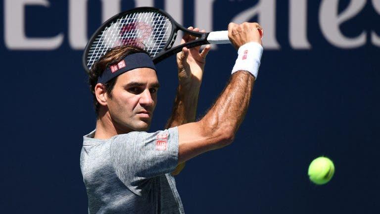 Federer: «Há muitos anos que não me sentia tão bem a chegar ao US Open»