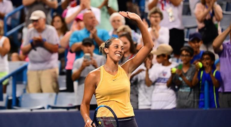 Madison Keys joga muito e bate Simona Halep em duelo fabuloso
