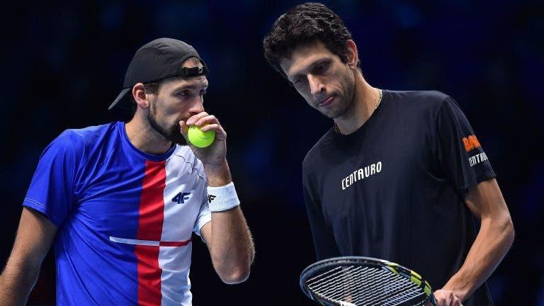 Dupla Melo/Kubot vence na despedida das ATP Finals e no último encontro juntos
