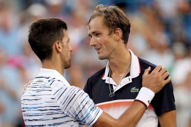 Medvedev é candidato a vencer o US Open para Djokovic? «Grand Slams são muito diferentes»
