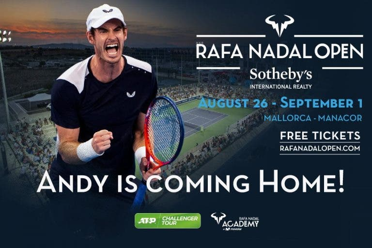 Andy Murray joga o Rafa Nadal Open durante… o US Open