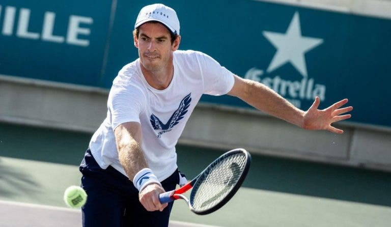 Andy Murray tem planos traçados para período pós-retoma do circuito ATP