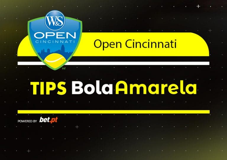 Apostas: Tips Cincinnati Dia 1 | 12/08/2019