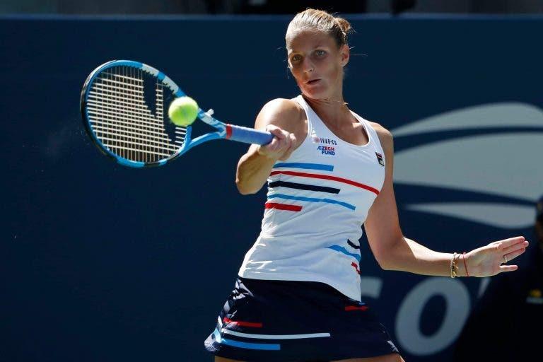 Pliskova triunfa sem problemas e já está na terceira ronda do US Open