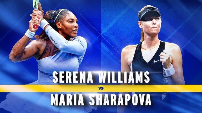 US Open. o quadro feminino: Serena-Sharapova na PRIMEIRA RONDA