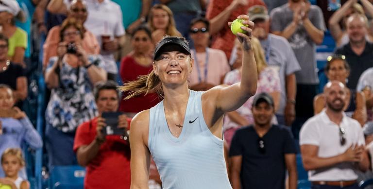 Maria Sharapova assume: «Sinto-me cada vez mais forte»
