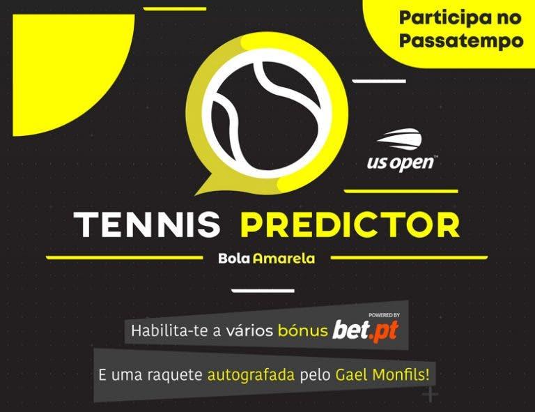 Participa no nosso US Open Tennis Predictor habilita-te a vários prémios!
