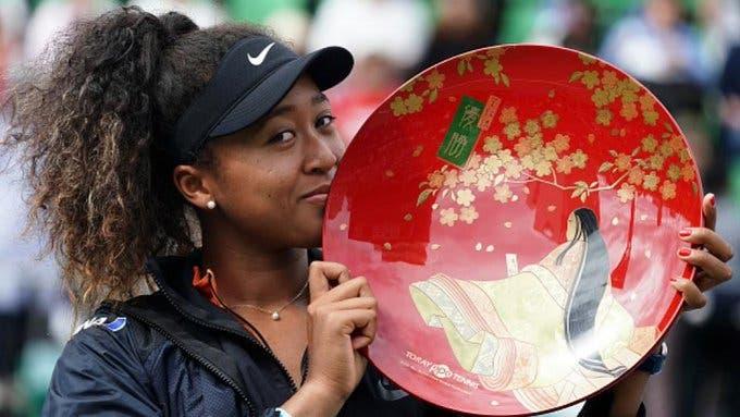 Osaka implacável para conquistar primeiro título no seu país