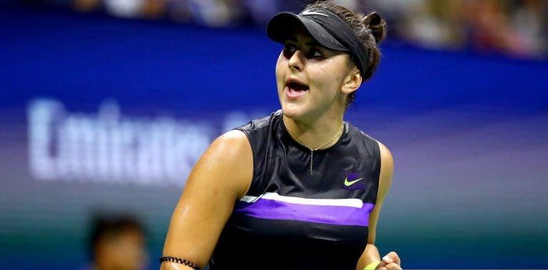 Andreescu: ninguém ganhava tantos encontros seguidos no WTA desde 2015