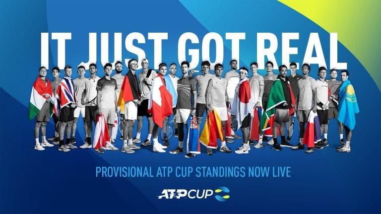 ATP Cup: conhecidas as primeiras 18 nações qualificadas, (ainda) sem Portugal