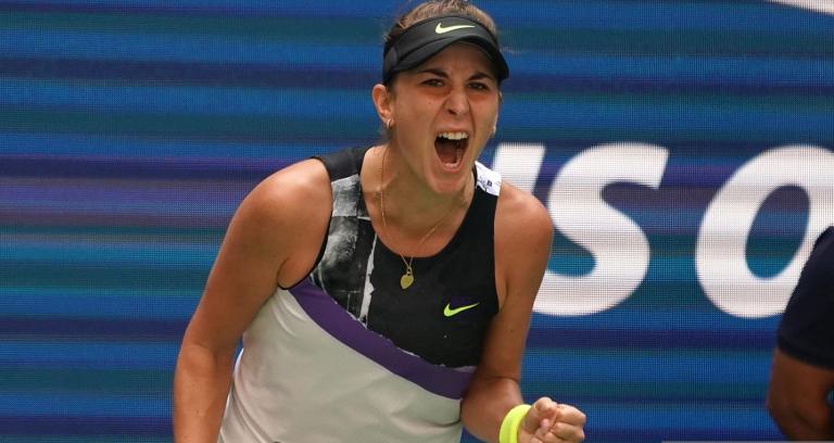 Belinda Bencic estreia-se em meias-finais de Grand Slam no US Open