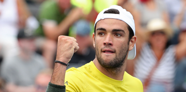 Berrettini volta a vencer em Viena e vê ATP Finals cada vez mais perto