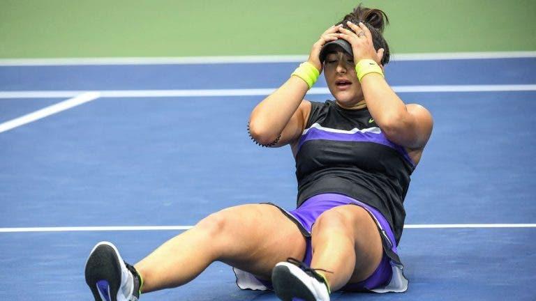 Andreescu prossegue calvário de lesões e desiste de Charleston