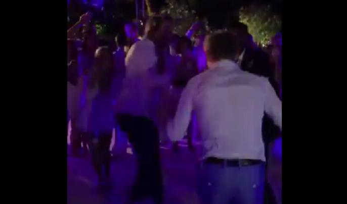 [VÍDEO] Monfils e Goffin brilham numa batalha de dança no casamento de Pouille