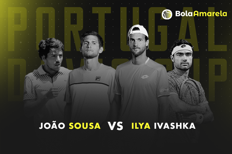 Davis Cup: acompanhe o João Sousa vs Ilya Ivashka no nosso live center!
