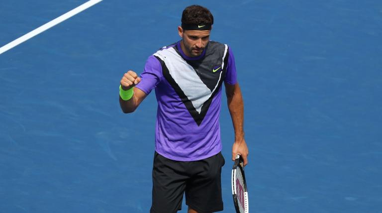 Dimitrov nos quartos-de-final do US Open pela primeira vez