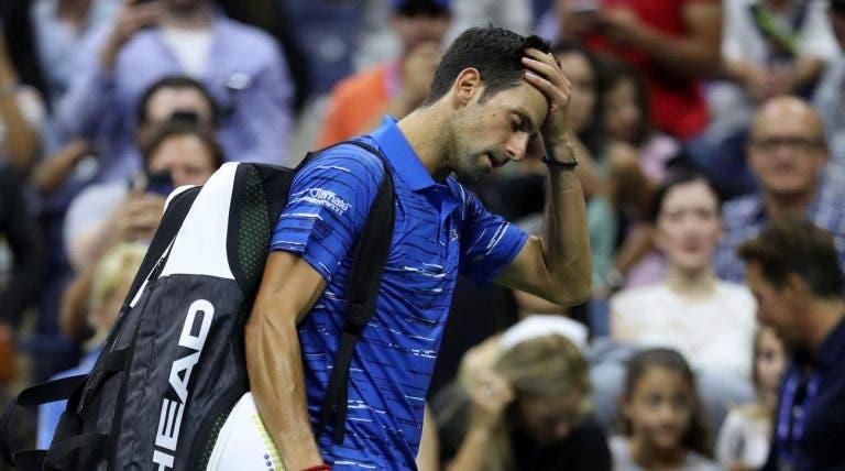 Eliminação de Djokovic abre luta pelo número um com Nadal e Federer até final do ano
