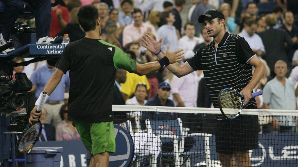 """""""O público de Nova Iorque não gosta de Djokovic e a culpa é de Roddick"""""""