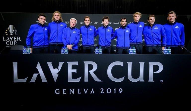 [VÍDEO] Federer define cada companheiro de equipa numa palavra