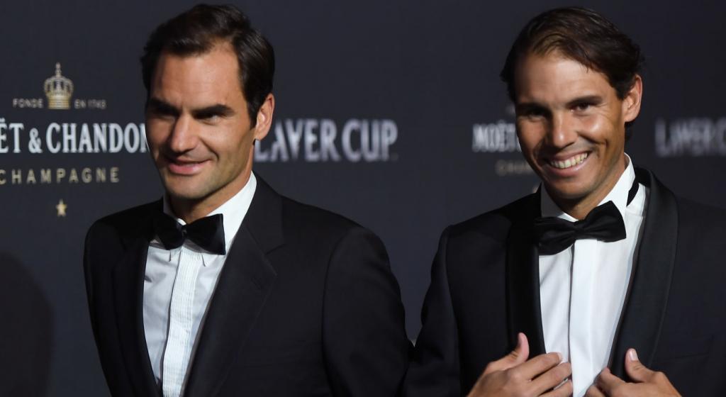 [VÍDEO] Nadal e Federer têm falado sobre o recorde de Slams? Eles responderam em conjunto