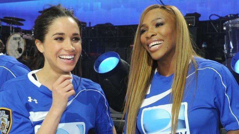 Meghan Markle viaja de última-hora para apoiar Serena Williams