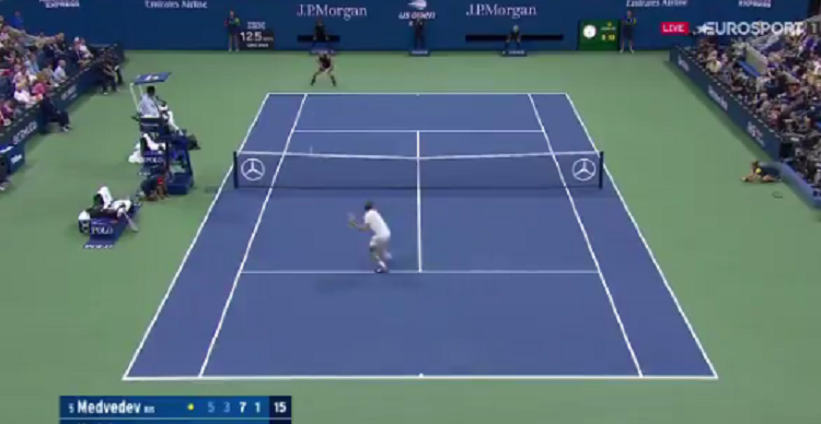[VÍDEO] A final do US Open está boa e pontos como este provam-no