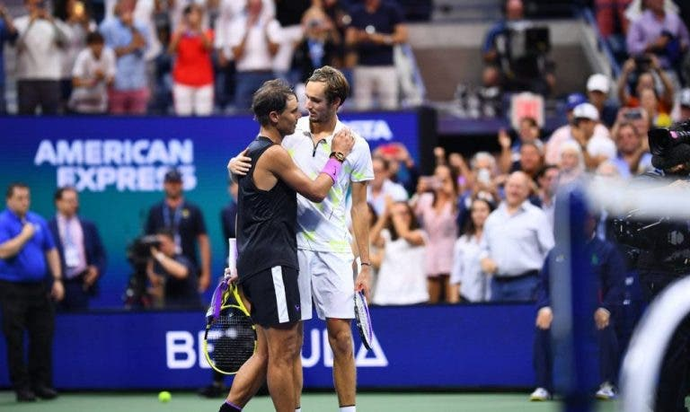 Nadal revela as finais que o marcaram mais que a do US Open frente a Medvedev