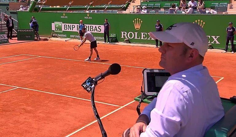 SUSPENSO. ATP afasta árbitro que assediou apanha-bolas em encontro de Pedro Sousa