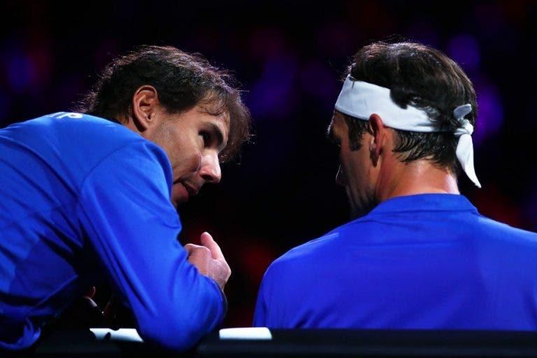 Federer: «Eu e o Nadal não somos melhores amigos mas a chave de tudo é o respeito»